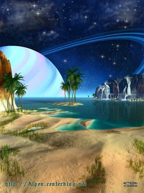 Paysages futuristes