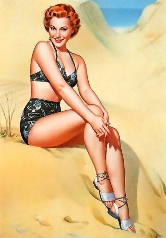 pin up 1950 dessins